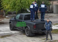 Body cover for pickup BVV under the order from the manufacturer