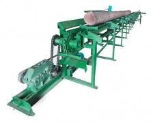 Бревнотаска, цепной транспортер конвейер для бревен