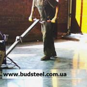 Concrete grinding, milling