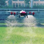 Desiccation of PPE application by drones throughout Ukraine