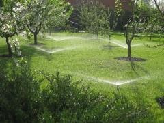 Design and installation of automatic irrigation systems