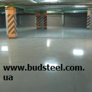 Industrial floors with topping