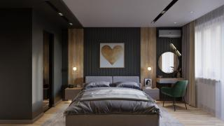 Interior design of houses and apartments