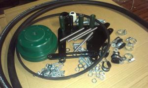Кондиционер для трактора МТЗ с наддаховим конденсатором