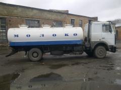 Manufacture, repair of tank trucks, tanker trucks, milk tankers