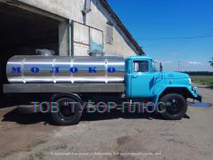 Production of tank trucks, milk trucks, water carriers, fish truck