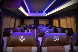 Tuning Internal Re-equipment of minibuses alteration of car interior banner