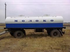 Виготовлення автоцистерн, водовозів, молоковозів, рибовоз. Асені
